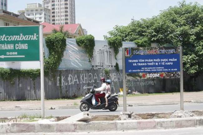"""Hà Nội đang chỉ đạo xử lý 23 chủ đầu tư có đất """"bỏ hoang"""""""