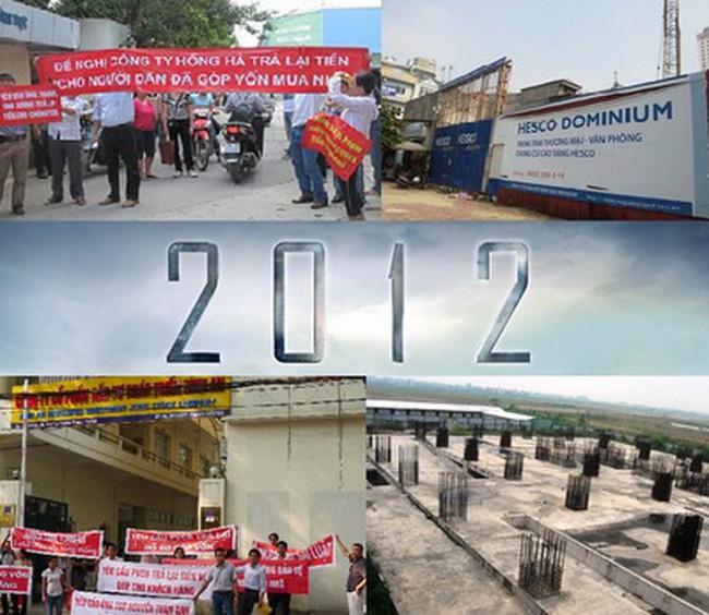 """10 dự án BĐS """"tai tiếng"""" nhất năm 2012"""
