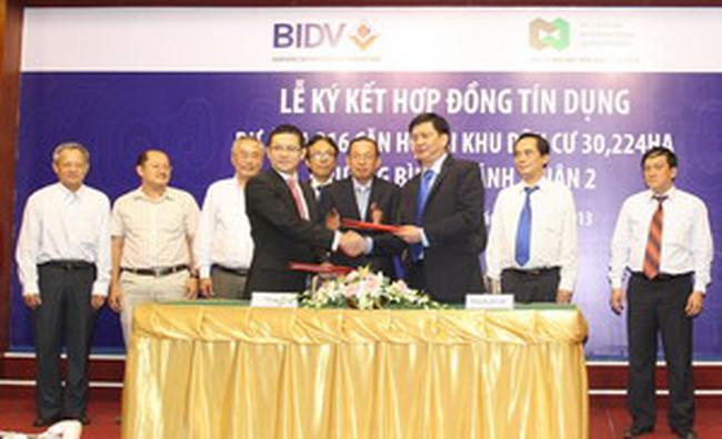 Dự án khu tái định cư Thủ Thiêm vay 4.914 tỷ đồng từ BIDV