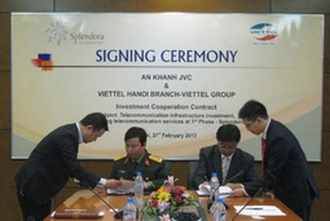 Viettel tham gia đầu tư tại dự án Splendora