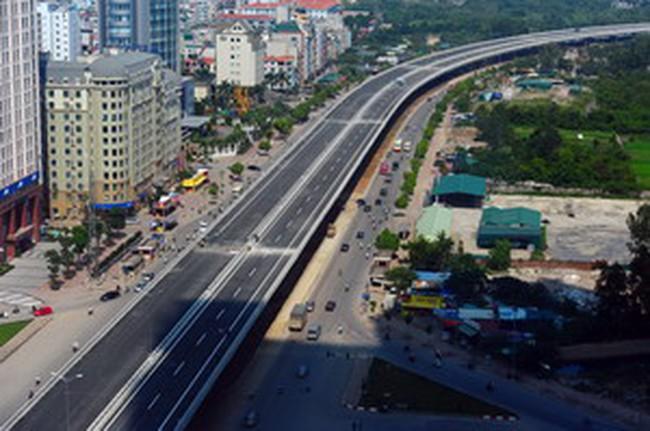 Vingroup làm đường trên cao từ cầu Vĩnh Tuy đến Ngã Tư Sở