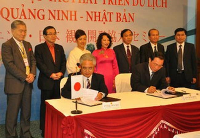 Nhật Bản muốn đầu tư mạnh vào lĩnh vực du lịch tại Hạ Long