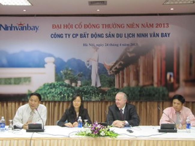 ĐHCĐ Ninh Vân Bay: Nhóm cổ đông 2 quỹ đầu tư sở hữu 57%