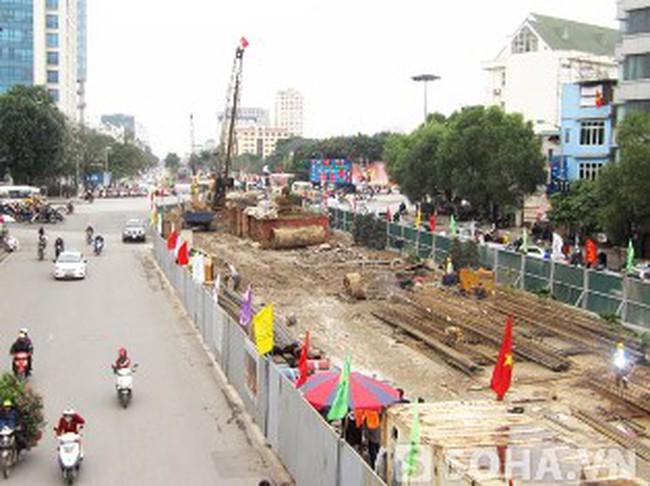 Tiến độ 3 dự án giao thông trọng điểm trên địa bàn Hà Nội