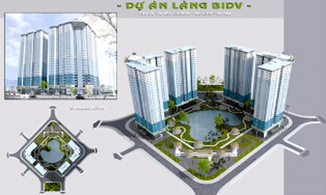 Dự án làng BIDV: Khách hàng muốn đòi lại tiền chủ đầu tư