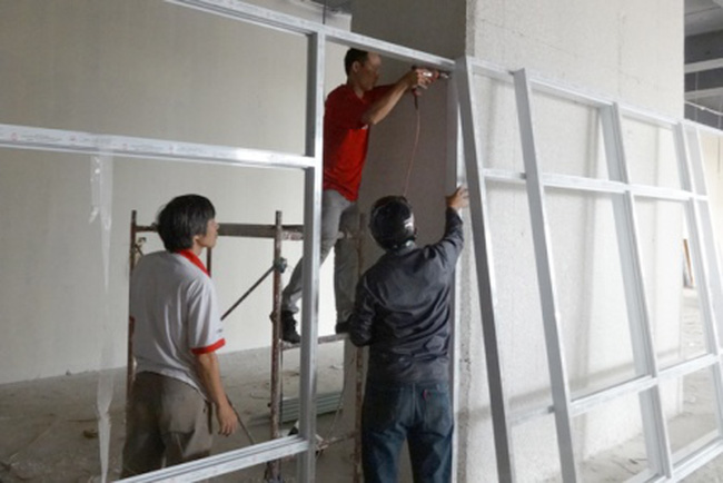 """""""Đột nhập"""" bên trong dự án Văn Phú – Victoria sắp hoàn thiện"""