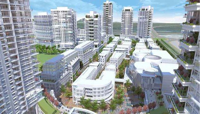 Điều chỉnh quy hoạch Dự án Park City Hà Nội