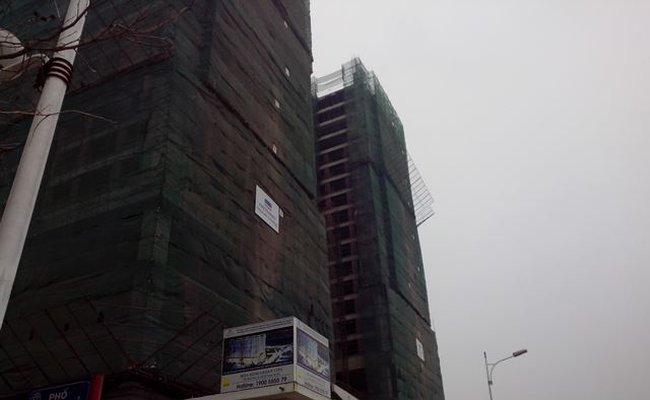 Hoà Bình Green City sắp xây thô xong