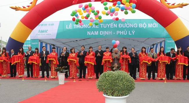 Thông xe tuyến đường bộ mới Nam Định – Phủ Lý