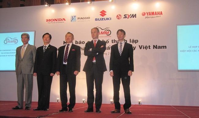 Chính thức ra đời Hiệp hội sản xuất xe máy Việt Nam