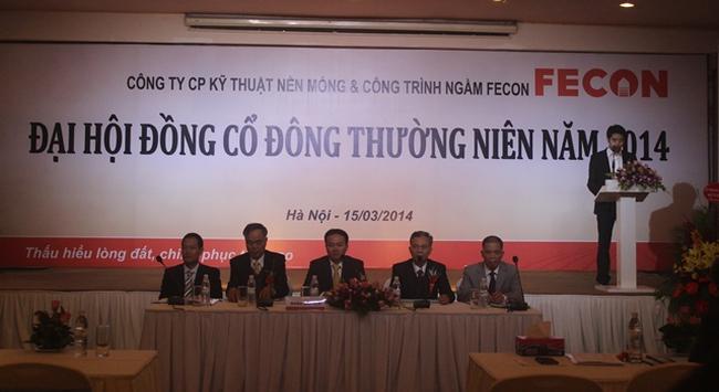 ĐHCĐ FECON: Thông qua tăng vốn lên 517 tỷ, đầu tư mạnh lĩnh vực hạ tầng giao thông