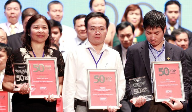 FECON lọt vào top 3 doanh nghiệp kinh doanh hiệu quả nhất Việt Nam năm 2014