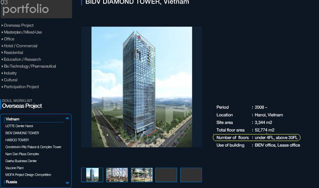 Lập hồ sơ thu hồi Dự án BIDV Diamond
