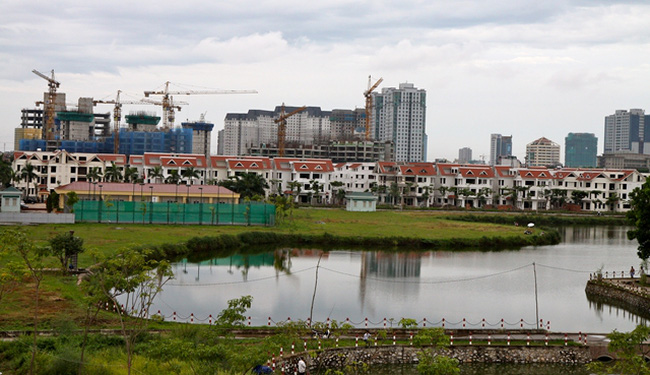 Đại gia nào đứng sau Dự án Thành phố giao lưu?