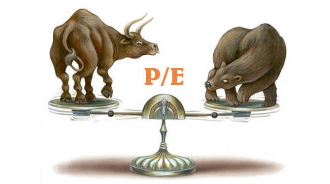 P/E của các cổ phiếu lớn đã về mức hấp dẫn?