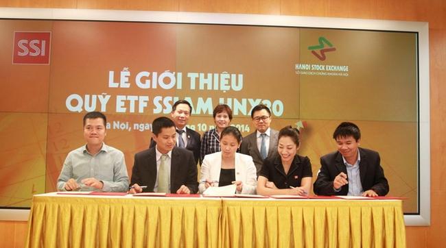 Quỹ ETF SSIAM HNX30 đi vào hoạt động với vốn điều lệ 101 tỷ đồng