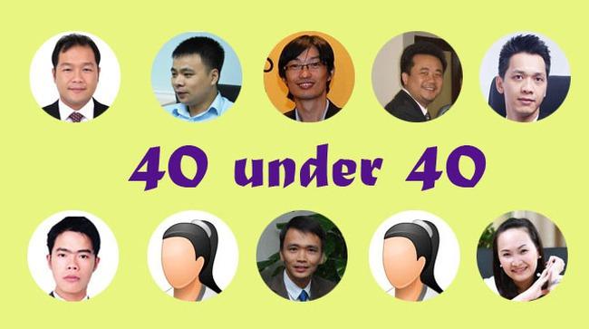 40 under 40: Những triệu phú U40 giàu nhất trên sàn chứng khoán Việt 2014