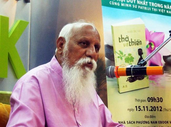 """Minh sư Patriji: """"Thiền là cách duy nhất chữa lành mọi bệnh tật"""""""