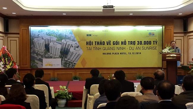 Gói 30.000 tỷ làm tăng nhiệt thị trường bất động sản giá rẻ Quảng Ninh