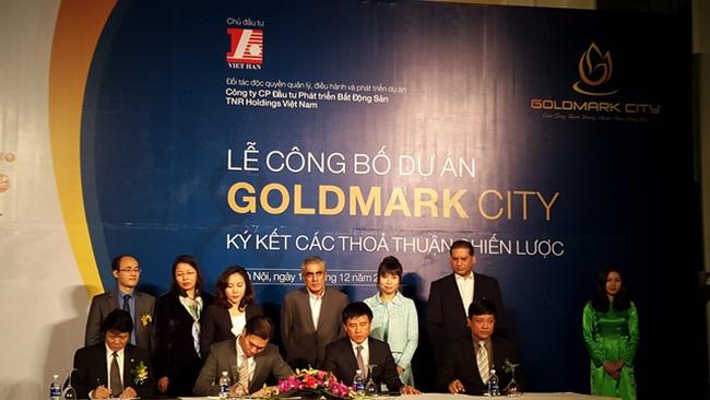 Dự án Castle Plaza đổi tên thành Goldmark City sau hơn 3 năm chậm tiến độ
