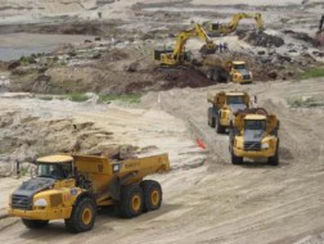 Mỏ sắt Thạch Khê: Khai thác những tấn quặng đầu tiên