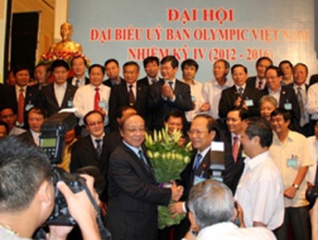 Ủy ban Olympic Việt Nam có Chủ tịch mới