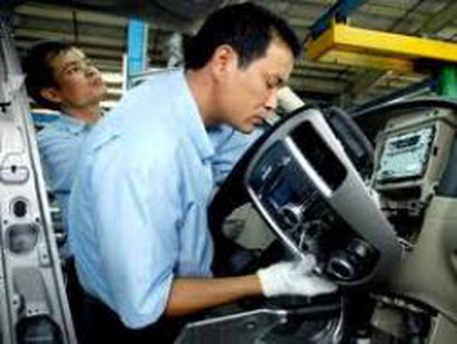 Tỷ trọng xuất khẩu dệt may: Lệch về phía doanh nghiệp FDI