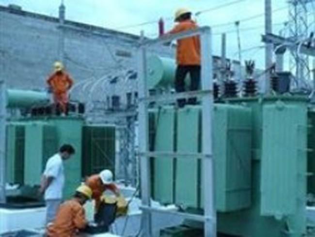 Nghiệm thu Nhà máy thuỷ điện Nước Trong