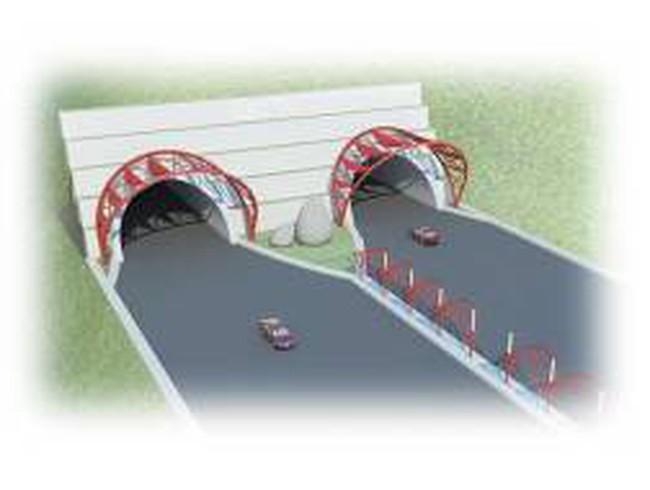 Hầm đèo Cả được thiết kế phù hợp với đường cao tốc Bắc – Nam