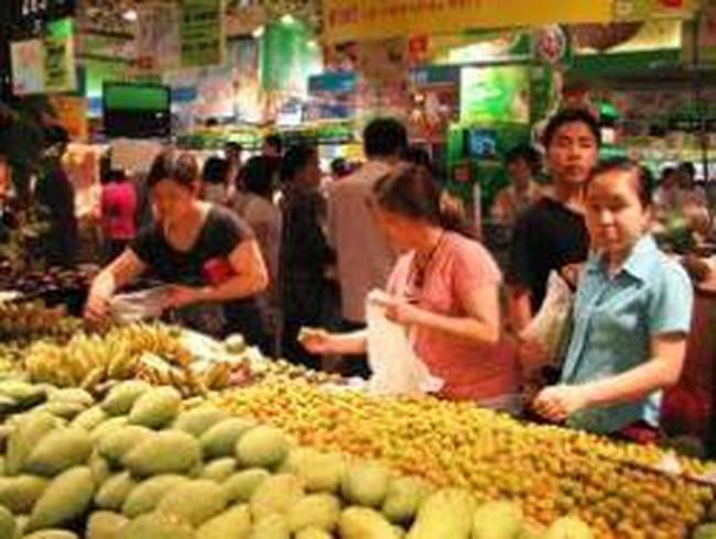 CPI tháng 10 của tỉnh Long An tăng 1,4%