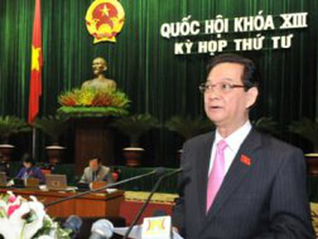 Thủ tướng nhận lỗi về những khuyết điểm của Chính phủ