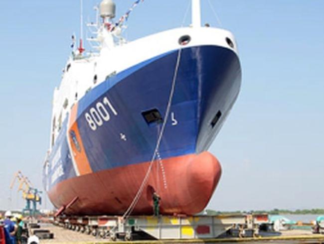 Cục Cảnh sát biển Việt Nam tiếp nhận tàu hiện đại