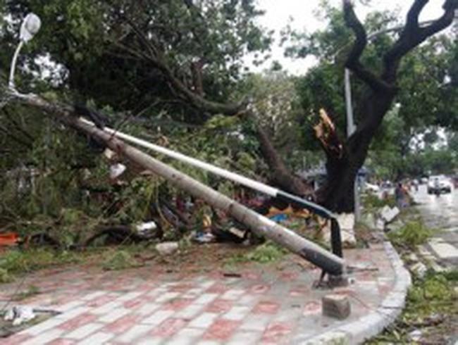 Điện lực, hàng không, viễn thông bị thiệt hại nặng nề vì bão