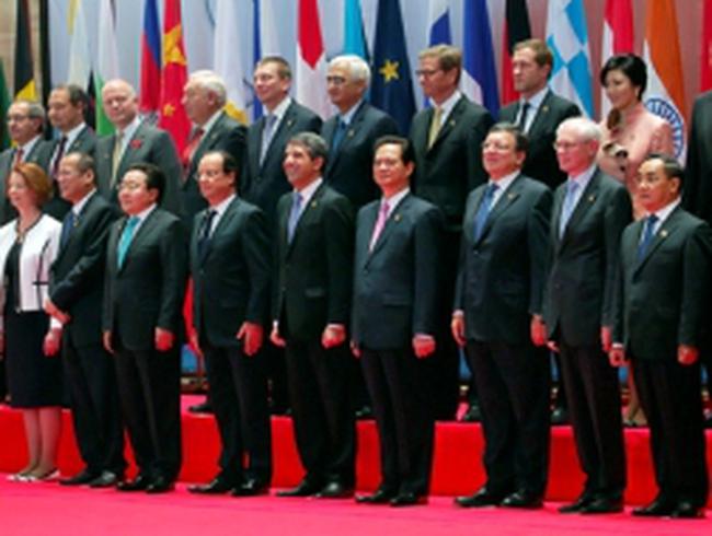 Thủ tướng Nguyễn Tấn Dũng: ASEM cần tạo động lực mới cho hợp tác kinh tế