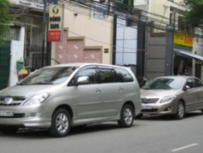 TPHCM: Kiến nghị thu phí đỗ xe ô tô theo giờ
