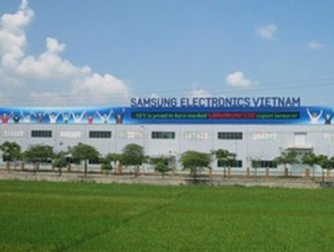 Tổng vốn đầu tư của Samsung Việt Nam chính thức lên 1,5 tỷ USD
