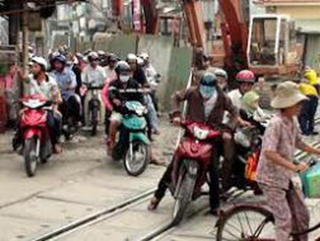 Lô cốt tái xuất hiện trên đường phố Sài Gòn