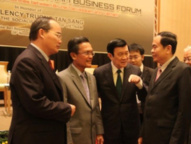 Brunei bán dầu cho Nhà máy Dung Quất