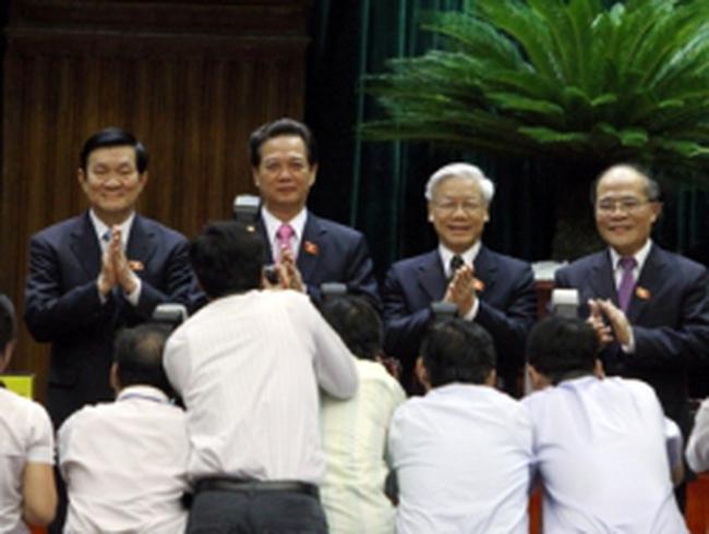 49 lãnh đạo cao nhất của nhà nước được lấy phiếu tín nhiệm lần đầu