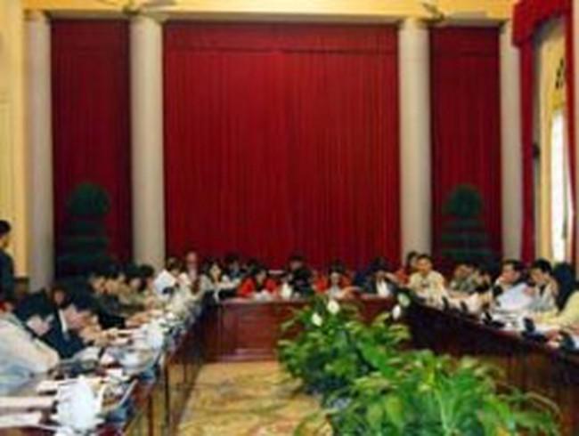 Công bố các Luật, Pháp lệnh và Nghị quyết của Quốc hội