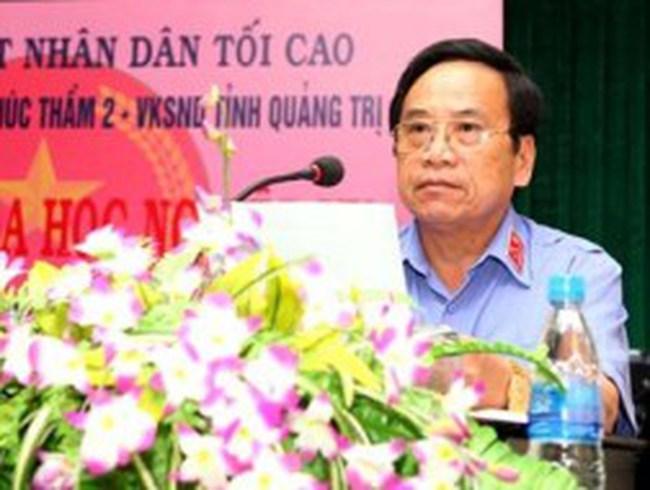 Quảng Trị: Viện trưởng Viện KSND tỉnh không nghỉ hưu