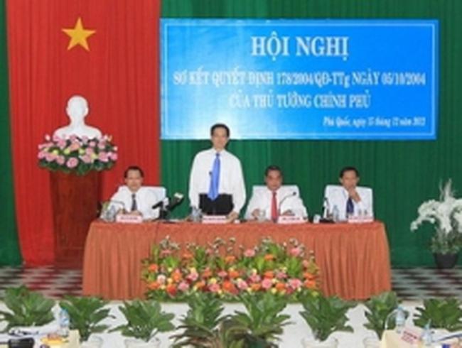 Phú Quốc sẽ trở thành đặc khu kinh tế hành chính