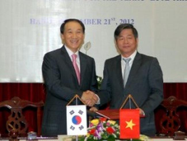 Hàn Quốc tài trợ 1,2 tỷ USD cho Việt Nam