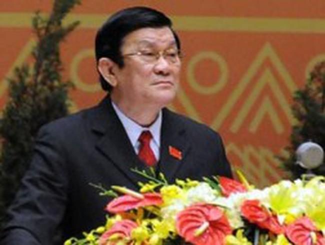 Chủ tịch Nước Trương Tấn Sang: Cán bộ phải sống được bằng lương