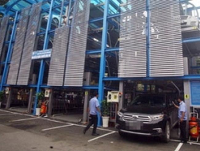 Hà Nội đầu tư 110 tỷ đồng xây hai giàn thép đỗ xe