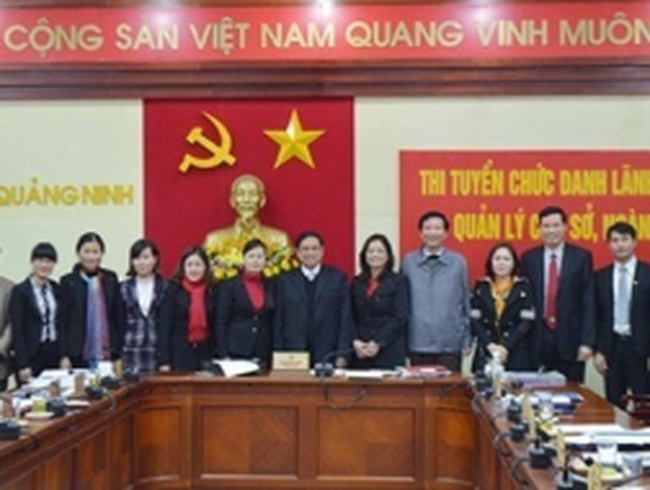 Quảng Ninh: Muốn lên GĐ sở cũng phải thi