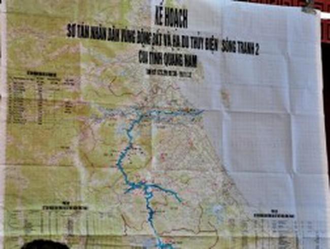 Lên kế hoạch sơ tán dân nếu động đất gây vỡ đập Sông Tranh 2