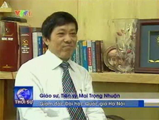 Cho thôi chức Giám đốc Đại học Quốc gia Hà Nội