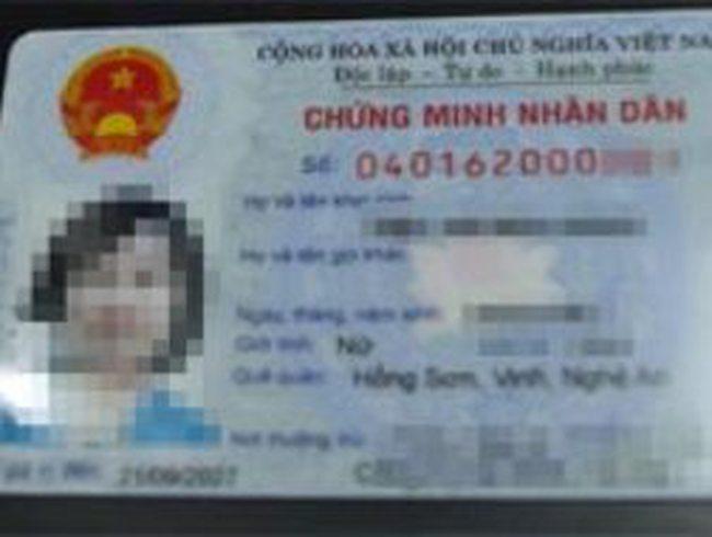 'Vẫn cấp chứng minh nhân dân ghi tên cha mẹ'
