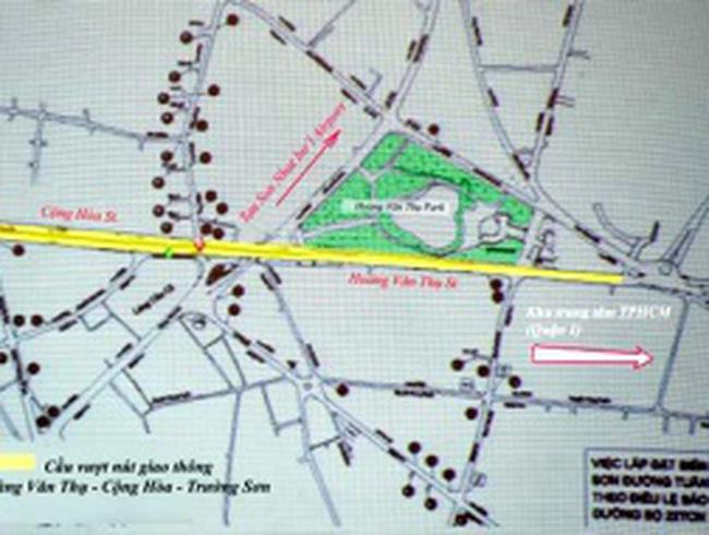 TP HCM sẽ xây thêm hàng loạt cầu vượt để giảm ùn tắc